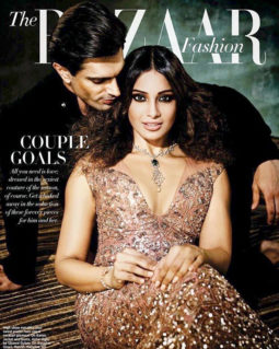 Karan Singh Grover, Bipasha Basu On The Cover Of Harper's Bazaar