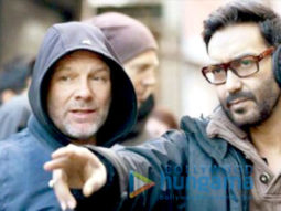 On The Sets Of The Movie Shivaay