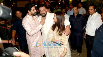 The Bachchan's diwali bash