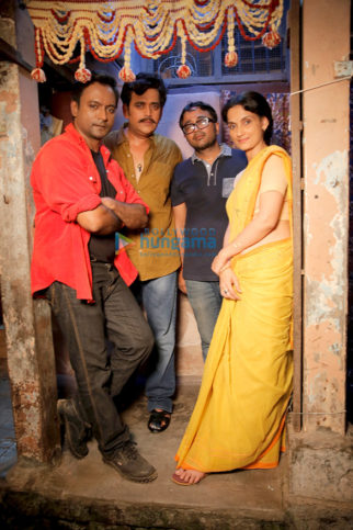On The Sets Of The Film Chidiakhana
