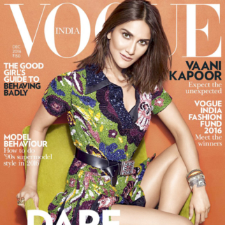 Vaani Kapoor On The Cover Of Vogue,Dec 2016
