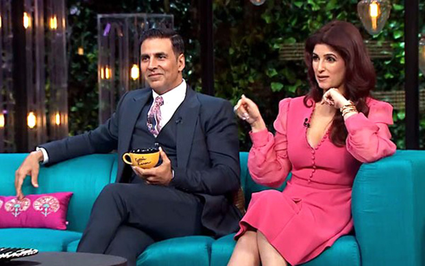 Image result for twinkle and akshay on koffee with karan