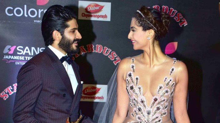 Sonam Kapoor-Harshvardhan Kapoor's SUPER CUTE Bonding At ...