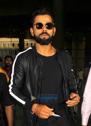 Virat Kohli, Shriya Saran and others snapped at the airport