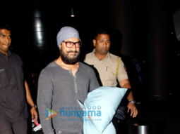 Aamir Khan, Sunny Leone and others snapped at the airport