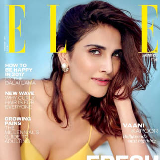 Vaani Kapoor On The Covers Of Elle
