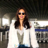 Esha Gupta snapped at the airport while travelling to Jaipur