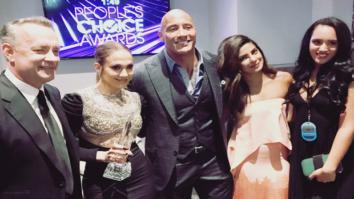Check out: Priyanka Chopra's award winning moment with Tom Hanks, Dwayne Johnson and Jennifer Lopez
