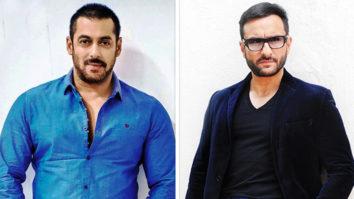 Saif Ali Khan, Iulia Vantur Spotted At Salman Khan's Residence