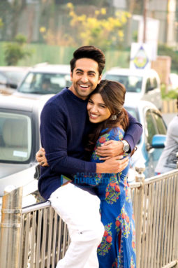 Movie still from the Movie Shubh Mangal Saavdhan