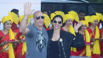 Check out: Vin Diesel and Deepika Padukone arrive in Mumbai to promote xXx: The Return of Xander Cage
