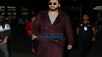 Arjun Kapoor, Huma Qureshi and Parineeti Chopra snapped at the airport