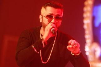 Honey Singh Sparkles At Adel-Sana Engagement