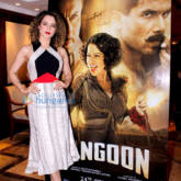 Kangna Ranaut at 'Rangoon's promotions