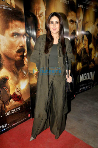 Kareena Kapoor Khan and others at 'Rangoon' screening