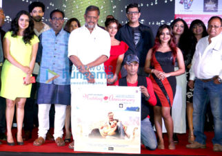 Nana Patekar, Priyanshu Chatterjee and others attend the music launch of the film 'Wedding Anniversary'