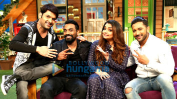 Remo D'Souza, Terence Lewis & Vaibhavi Merchant grace The Kapil Sharma Show