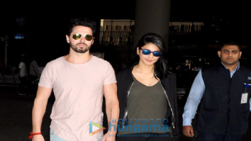 Shruti Hassan snapped with her rumoured boyfriend at the international airport