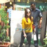 Yami Gautam snapped post salon session in Bandra