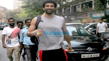 Aditya Roy Kapur snapped in Bandra