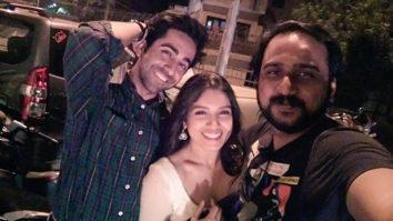 Ayushmann Khurrana and Bhumi Pednekar take their romance to the Delhi streets-1