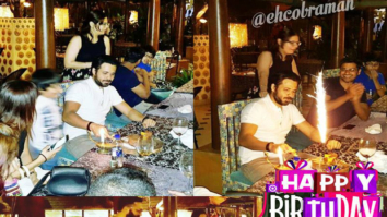 Check out Sneak peek at Emraan Hashmi's birthday celebration
