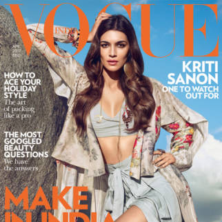 Kriti Sanon On The Cover Of Vogue