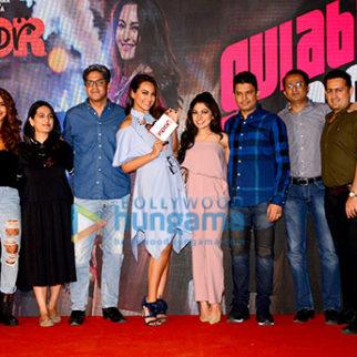 Launch of song Gulabi 2.0 from film Noor