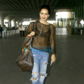 Neha Sharma snapped at the airport