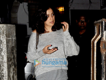 Raai Laxmi snapped post a salon session in Juhu