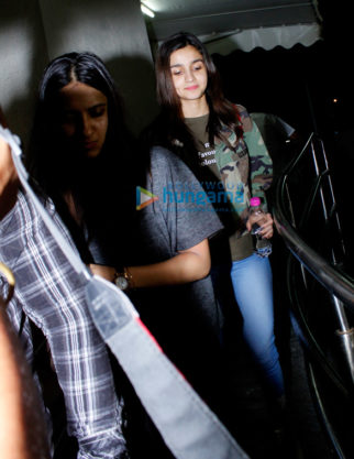 Alia Bhatt snapped at the screening of 'Fast And Furious 8', which was held at PVR Juhu