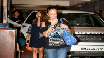 Amrita Arora, Karisma Kapoor & Seema Sachdev Khan snapped post dinner at Kareena Kapoor Khan's house