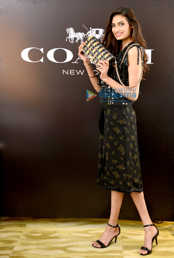 Athiya Shetty graces the launch of Coach store in New Delhi
