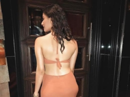 Check out Amyra Dastur is bringing sexy back in this backless gown