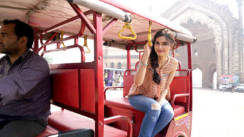 Diana Penty explores Lucknow in a rickshaw