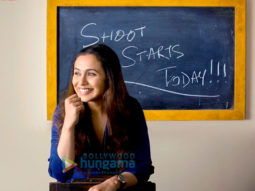 On The Sets From The Film Hichki