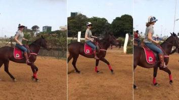 Kangna Ranaut learns horse riding for Rani Laxmibai