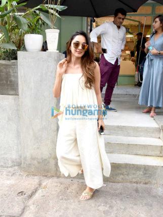 Kiara Advani and Sanya Malhotra snapped post lunch at The Kitchen Garden