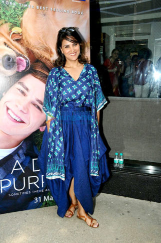 Lara Dutta, Sneha Ullal and others grace the screening of 'A Dog's Purpose'