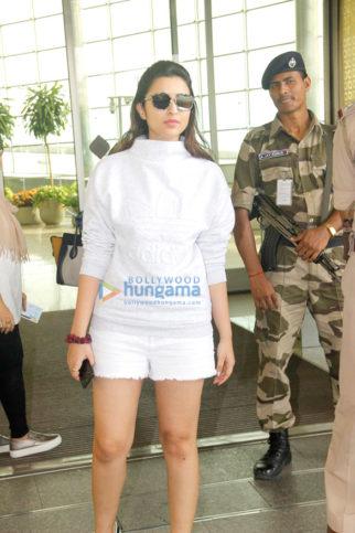 Parineeti Chopra, Tamannaah Bhatia & Shriya Saran snapped at the airport