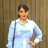 Richa Chadda promotes her production debut 'Khoon Aali Chithi'