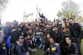 Shooting of Anil and Arjun Kapoor