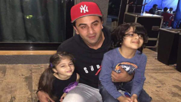These kids are playing Sanjay Dutt aka Ranbir Kapoor and Dia Mirza's kids onscreen and it is cute-1