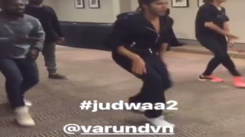 Varun Dhawan and Taapsee Pannu's rehearsal for 'Oonchi Hai Building' will make you nostalgic