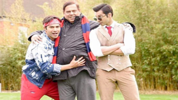 WOW! David Dhawan poses with his Judwaa sons, Prem and Rajaa
