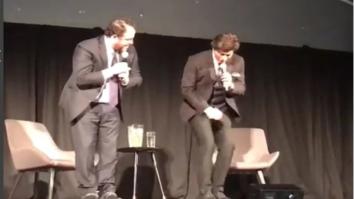 Watch Shah Rukh Khan makes Rush Hour director Brett Ratner do the Lungi Dance