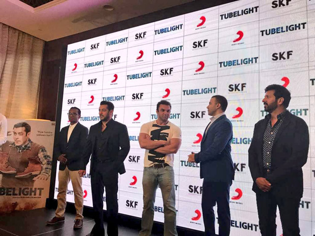 """Salman Khan's character is childish in Tubelight,"" says Kabir Khan at The Radio Song launch in Dubai-3"