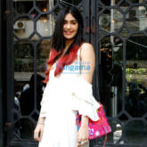 Adah Sharma snapped at The Korner House