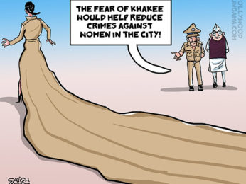 Bollywood Toons Priyanka Chopra is painting the town khakee!