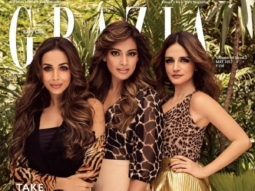 Malaika Arora, Bipasha Basu, Sussanne Khan On the covers of Grazia